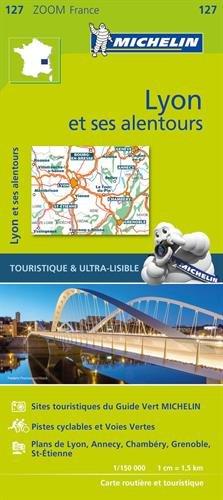 Carte Lyon et ses alentours Michelin