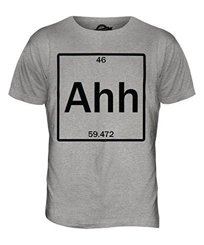 CandyMix Das Element Der Überraschung Herren T Shirt Grau Meliert
