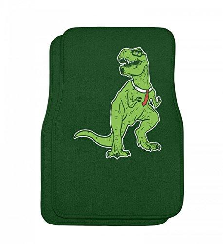 Nerd Musik Kostüm - Hochwertige Automatten - Tyrannosaurus Nerd - Dinosaurier T-Rex Dino Urzeit Archäologie Brille Rex Urknall Geschenk