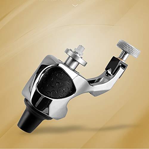 QQDD Machine à Tatouer Rotative Professionnel 12w Motor Convient pour Ombres Et Lignes, Silver