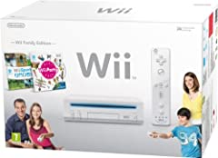 Idea Regalo - Nintendo Wii - Console con Wii sport e Wii party [Bundle]