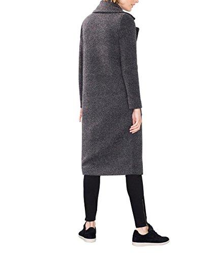 Esprit Damen Mantel Grau Dark Grey 020 Hurothermeu