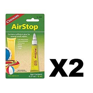 Coghlan's Airstop Vinyl Inflatables Repair Liquid Patch for Air Mattress 2-Pack