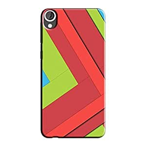 DIGITAL PATTERN 43 BACK COVER FOR HTC 826