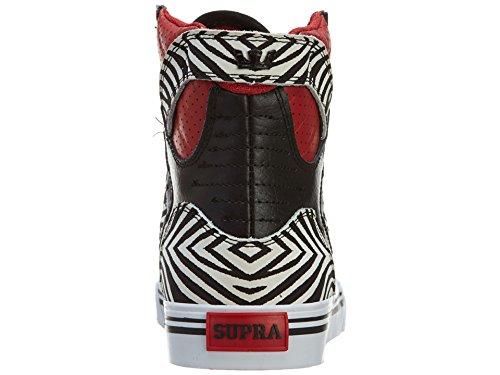 Supra SKYTOP Unisex-Kinder Hohe Sneakers Rot