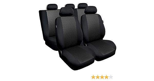 Gsc Sitzbezüge Komplettset Sitzbezug Fü R Auto Universal Grau Profi Kompatibel Mit Suzuki Baleno Auto