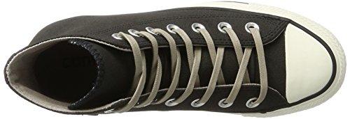 Converse Chuck Taylor All Star, Sneaker a Collo Alto Unisex-Adulto Schwarz (Black/Malted/Egret)