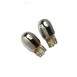 AP Automotive 2x 501 Bulbs Amber 12v (Xenon Chrome Lens) 501 - W5W - W2. 1x9. 5d - T10
