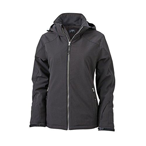 Softshell Wintersport Jacke - Farbe: Black - Größe: S