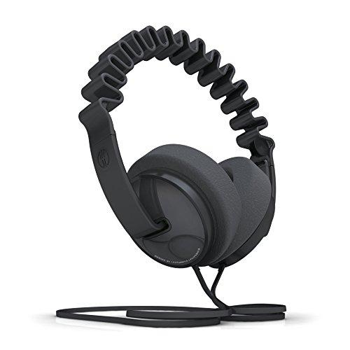 InnoDevice WV100060 InnoWave Plus Over Ear Designer Kopfhörer schwarz