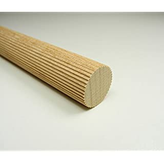 Amco Riffelstab Buche 18 mm 100 cm Länge Holzdübel Dübelstangen