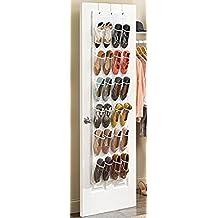 Missofsweet 24bolsillo para colgar de la puerta zapatero organizador armario de almacenamiento