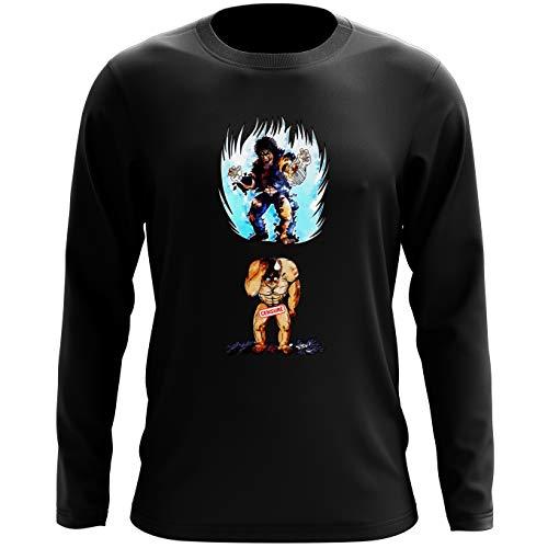 T-Shirts à manches longues Hokuto No Ken - Ken le Survivant parodique Kenshiro : Trop de puissance. !!! : (Parodie Hokuto No Ken - Ken le Survivant)