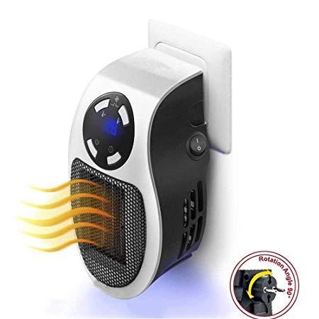 Smart Space Room Handy Heater Portable 500W Handy Mini Heater Fan for Office Home