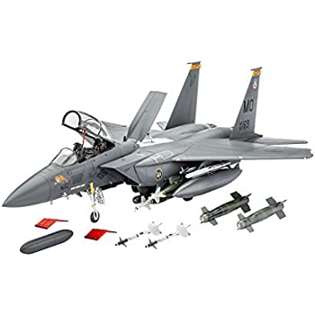 Revell - 04891 - Maquette D'aviation - F-15e Strike Eagle & Bombs - 224 Pièces