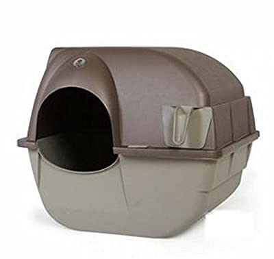 Roll'n'Clean Self-Cleaning Litter Box - Innovative Patented Design - Quick, Easy And Hygienic Cleaning - Your Cat Will Love It