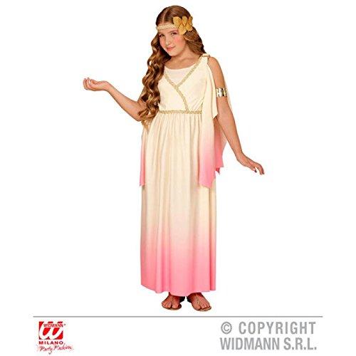 Widmann wdm67668-Kostüm für Kinder Griechische Göttin (158cm/11-13Jahre), Pink, S