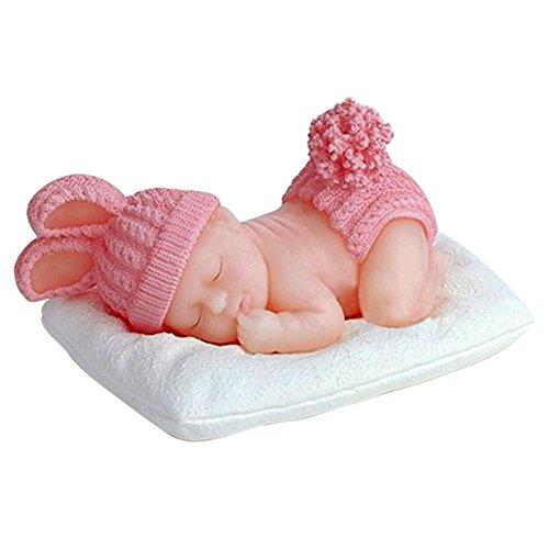 Karen Baking Nuovo arrivo The Sleeping Mold Chocolate 3 D del silicone di disegno del bambino Fudge torta che decora gli attrezzi