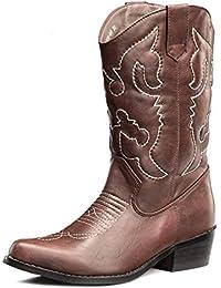 1ba77751baa Amazon.co.uk: Western Heel - Cowboy Boots / Boots / Women's Shoes ...
