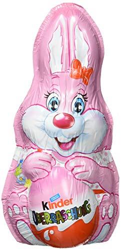 Kinder Schokolade Hase mit Überraschung Rosa-Ei, 75 g