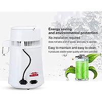 Filtro De Agua De Acero Inoxidable 4L Máquina De Agua Destilada Purificador De Destilación Vivienda Uso