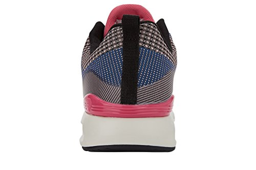 British Knights Energy Damen Sneakers Gris foncé/violet/rose pâle