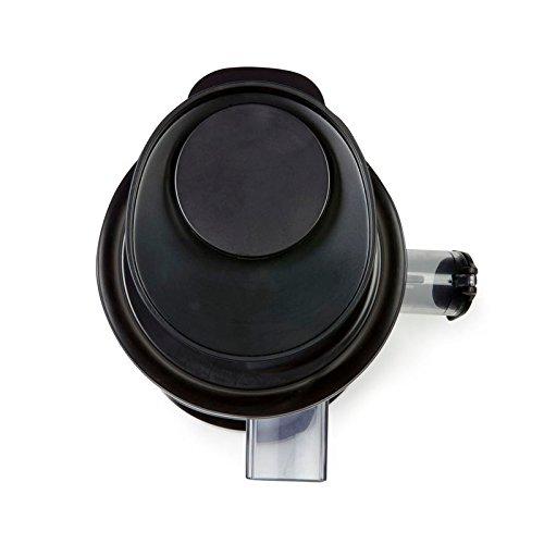 Profi Fruchtpresse + Gemüsepresse BPA-Frei, Slow-Juicer für MEHR Vitamine, MEHR Geschmack, MEHR Saft, spezielles Presssystem – Geschwindigkeit: 60 Umdrehungen pro Minute - 6