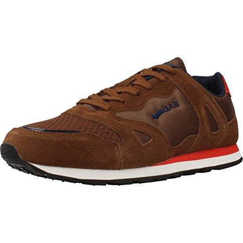 Uomo scarpa sportiva, color Marrone , marca GAS, modelo Uomo Scarpa Sportiva GAS ATACAMA Marrone