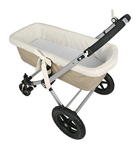 Preisvergleich Produktbild Danielstore Universeller Kinderwagen-Bezug, Weiß beige