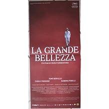 Poster Locandina ORIGINALE - LA GRANDE BELLEZZA - CINEMA ITA SORRENTINO 33x70cm