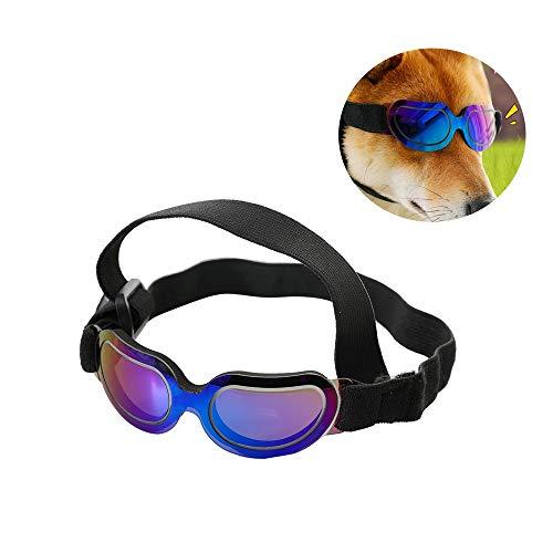 LiRongPing Pet Brille-Dog Goggles Eye Wear Schutz Wasserdichte Pet Sonnenbrillen