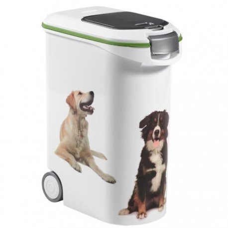 Curver Petlife Futtertonne Futtercontainer Futter Box Hunde 20kg/ca. 54L V109