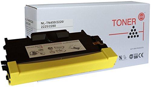 Premium Toner - TN2220 - TN450 - Schwarz - 2.600 seiten - Kompatibel mit : BROTHER - HL 2220/2270/2240/2250 -MFC 7360/7460/7860 -DCP 7060/7065/7070 -FAX2840/2845/2940 - Tn450 Brother Laser Toner