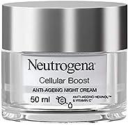 Neutrogena Face Cream, Cellular Boost, Anti-Ageing Night Cream, 50ml