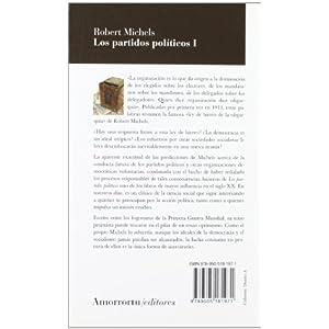 Los Partidos Políticos - Volumen I (2ª Edición) (Sociología)