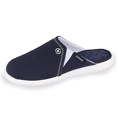 Isotoner Chaussons Mules Homme Ultra Légers