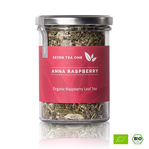 Anna Raspbery té de hojas de frambuesa - Para mujeres embarazadas y para el parto - Té para el embarazo sin aditivos - Recomendado por las parteras - Certificado orgánico