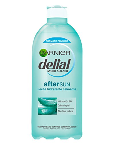 Garnier Delial Leche Hidratante Calmante After Sun con Aloe Natural - 400 ml