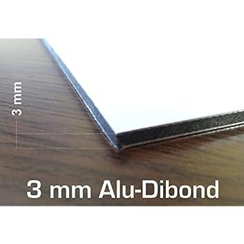 3 mm blanc acm plaque 400 x 300 mm dibond aluminium composite cr ation de panneaux. Black Bedroom Furniture Sets. Home Design Ideas