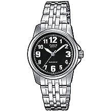 Casio Reloj Analógico para Mujer de Cuarzo con Correa en Acero Inoxidable LTP-1260PD-