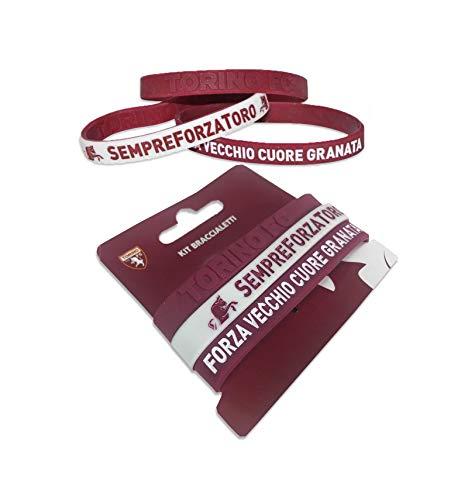 tex family Armbänder Set 3 offizielle Torino FC und Torino Postkarte ist