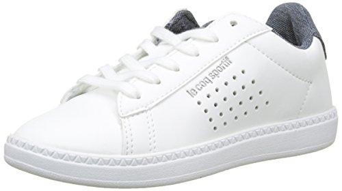 Le Coq Sportif Courtset GS Craft Optical White/Dress BL, Baskets garçon