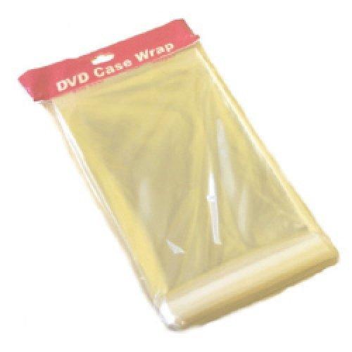 Dragon Trading 100 fundas resistentes de 25 micras para estuche DVD de 14mm, resellables