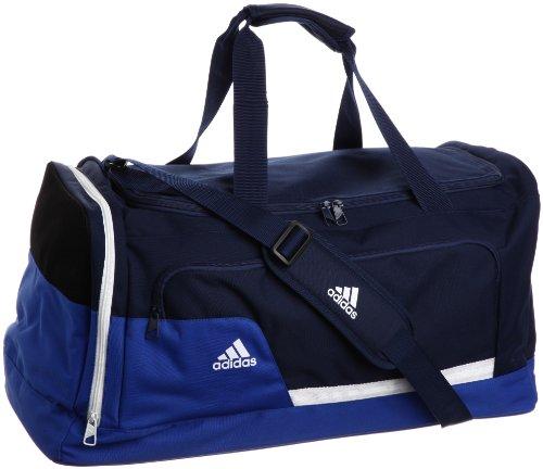adidas Tiro13 – Bolsa de deporte (talla M) azul azul/blanco Talla:medium