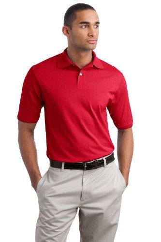 Jerzees Herren Poloshirt True Red