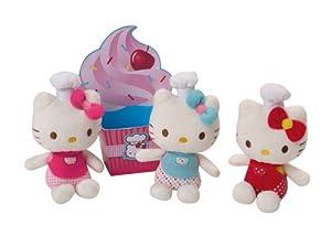 Jemini-022639-peluche de Hello Kitty Mini hecho la gastronomía-11cm
