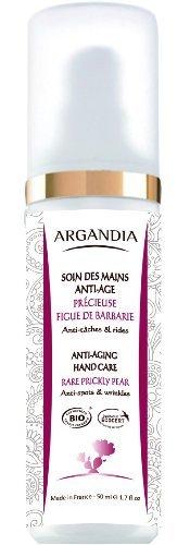 ARGANDIA Opuntia Anti-Aging Handcreme, gegen Altersflecken und Falten, 50ml