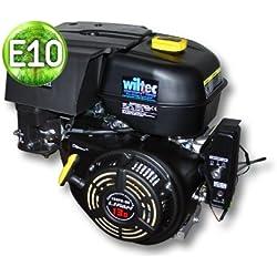 WilTec LIFAN 188 Moteur Essence 9.5kW (13CV) 390ccm avec reducteur 2:1 Embrayage et démarreur électrique