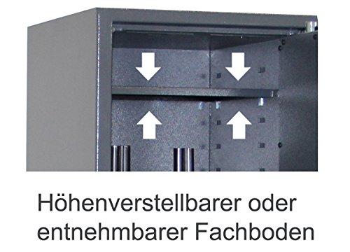 Waffenschrank EN 1143-1 Grad 0 Gun-Safe 0-5 - 3