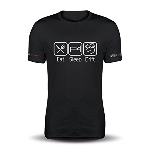 Ford Lifestyle Collection New Genuine Ford RS ICONS T-Shirt - Eat Sleep Drift